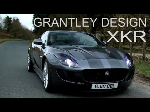 Jaguar XK XKR body kit styling by Grantley Design - YouTube
