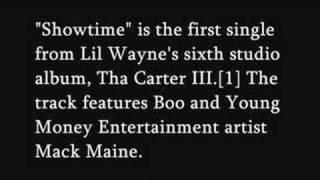 Showtime Lil Wayne Carter III studio album