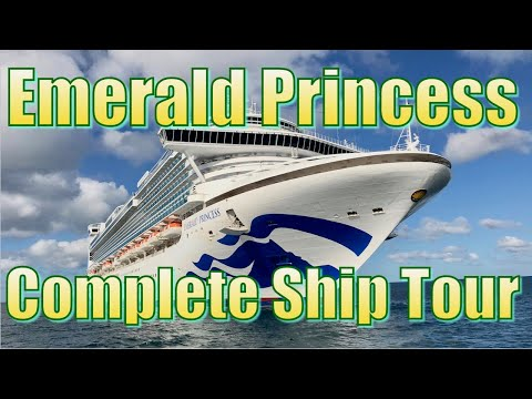 Emerald Princess Complete Ship Tour 2019 (after Refurbishment)