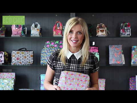 ECO CHIC Foldable Backpack Tutorial