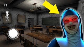 НОВАЯ ШКОЛА И УЧИЛКА МОНАХИНЯ В Майнкрафт - Побег из Школы The Nun троллинг нуба minecraft Мультик