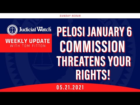 """Students Taught MAGA is """"White Supremacy!"""" Pelosi Jan. 6 Commission Threatens Your Rights & MORE"""
