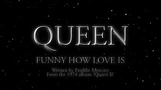 Queen - Funny How Love Is (Official Lyric Video)