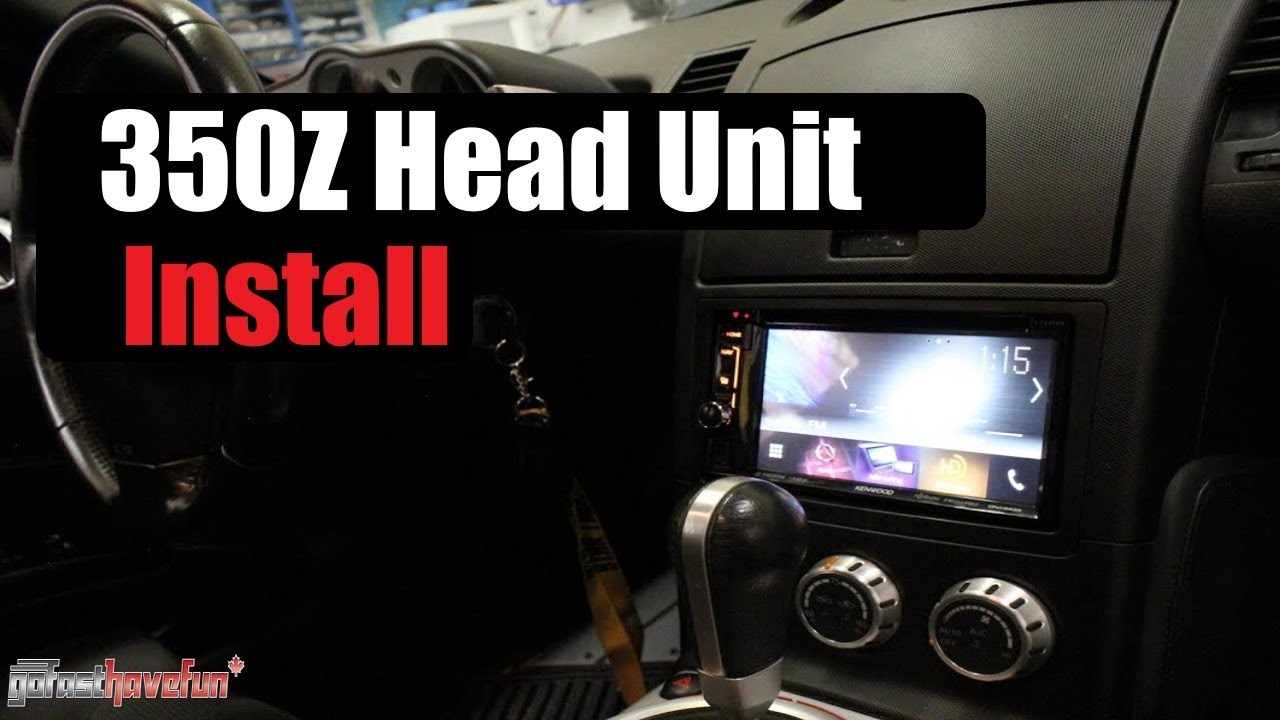 nissan 350z head unit installation stereo removal anthonyj350 rh youtube com