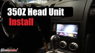 Nissan 350Z Head Unit Installation/ Stereo Removal | AnthonyJ350