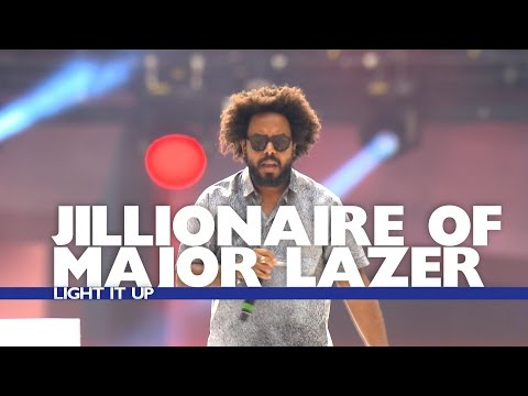 Jillionaire of Major Lazer - 'Light It Up' (Live At The Summertime Ball 2016)