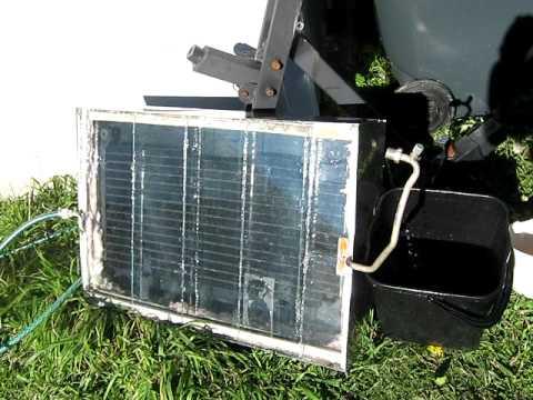 Budget Built Solar Water Heater Солнечный