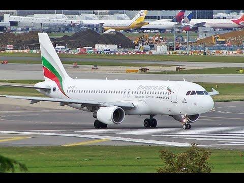 Bulgaria Air A320 URSS-LBWN , Microsoft Flight Simulator & Prepar3D , VATSIM HD, стрим