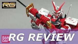 RG Gundam Astray Red Frame Review 1/144