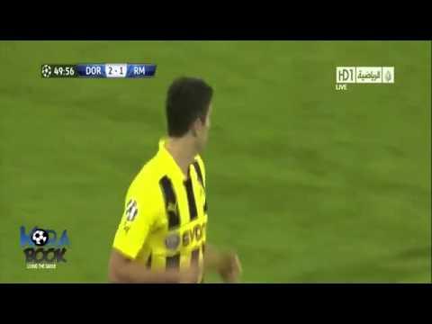 Borussia Dortmund vs Real Madrid 4-1 Full Highlight 25 April 2013 Semifinal Liga Champion Leg I