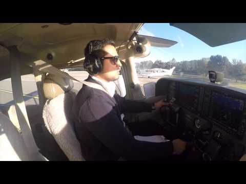 My First solo Flight  - Cessna 172 - Hafiz Akbarzada