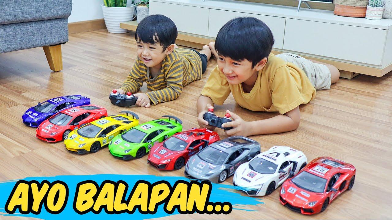 Ziyan Dan Kyo Balapan Mobil Remote Control Speed Fury Youtube