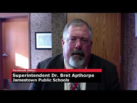 Jamestown Schools Superintendent Discusses School Closure Procedure