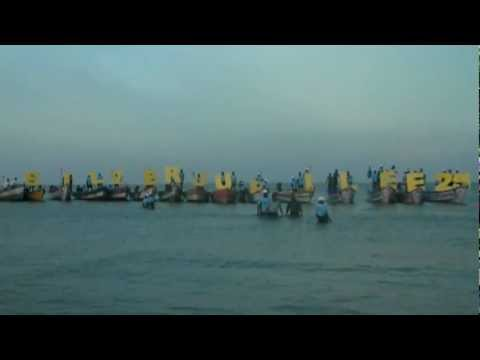 Boat race in Thoothukudi Silver jubilee celebrations