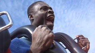 Just for fun: Priceless Reaction From My Friend's First Roller Coaster Ride