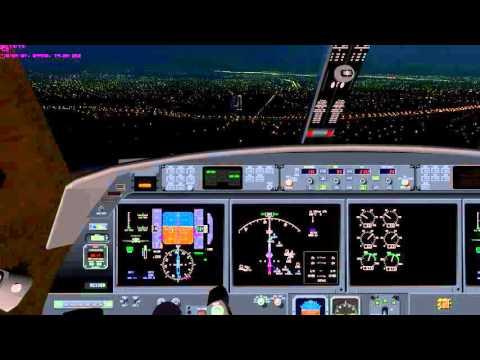 Cockpit view of Gulfstream Crash at Millard Airport in Omaha Nebraska