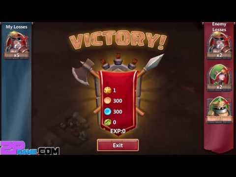 Castle Clash: Age Of Legends - IGG.COM Level 1-3 Gameplay Walkthrough