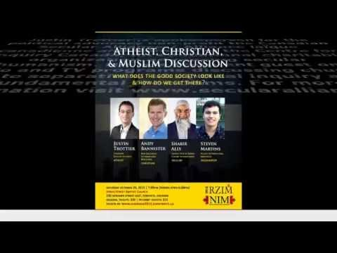Trailer: Atheist, Christian & Muslim Dialogue ( Toronto, Canada 2015 )