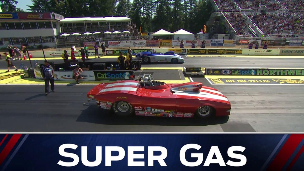 2018 CatSpot Northwest Nationals Super Gas winner Gene Kelly
