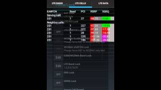 Download LTE PCI Cell Locking on Samsung S5 running AZQ Android