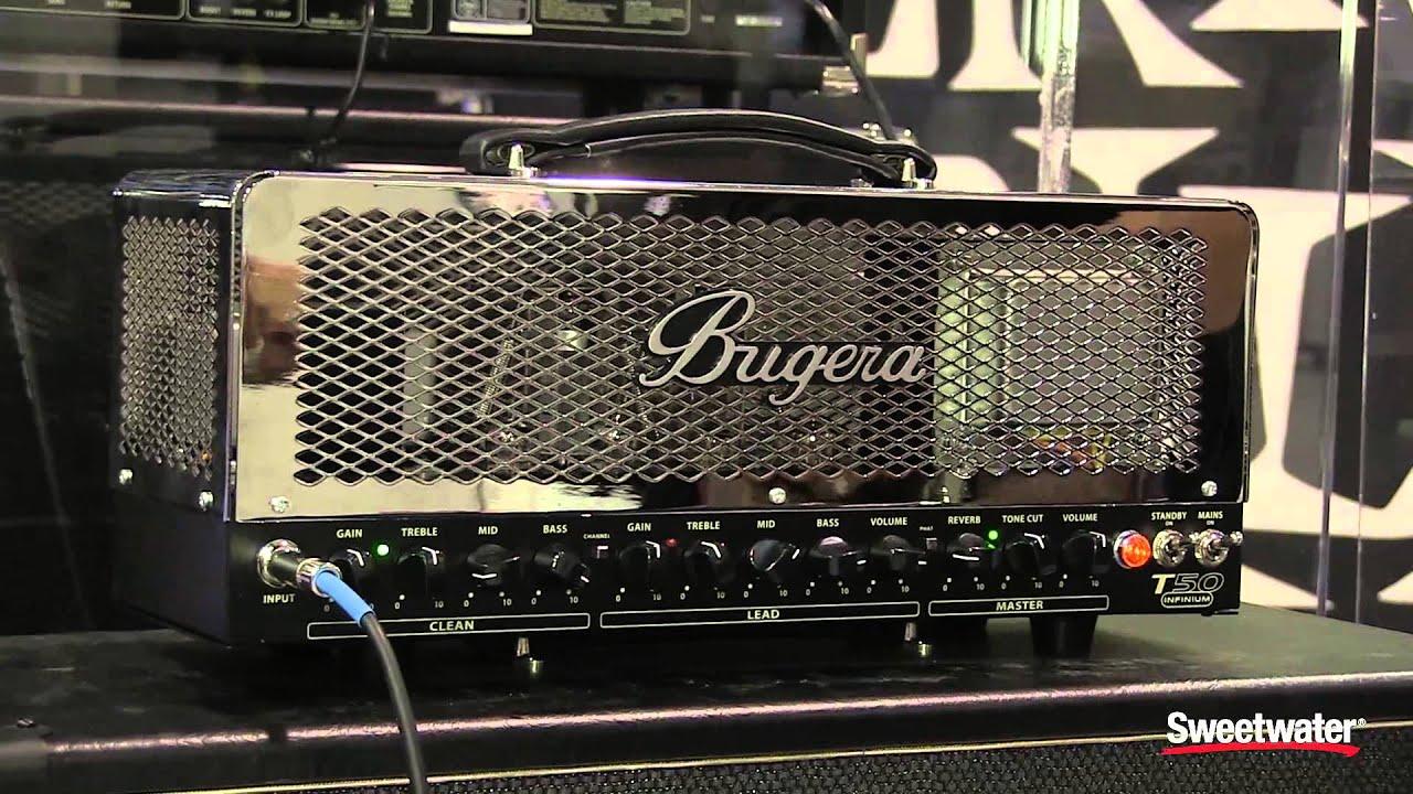 bugera t50 infinium sweetwater at winter namm 2015 youtube