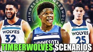 Minnesota Timberwolves 1ST PICK Scenarios! BEST ROOKIE DRAFT? ANTHONY EDWARDS? DEVIN BOOKER TRADE?