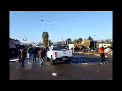 Earthquake, tsunami aftermath in Coquimbo, Chile