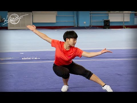 INTERVIEW with young Henan wushu athlete WANG FU RONG