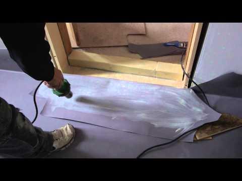 Vinylmembran på pladelag - let vådrum