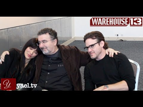 Warehouse 13 star Eddie McClintock  'Hairy Gum'  Kelly Hu  Saul Rubinek  MCM London ComicCon