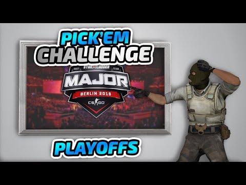 the PICK'EM CHALLENGE - Starladder Major Berlin 2019: Champion Stage Playoffs