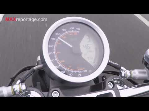 Moto électrique Super Soco TC MAX 0-100 Km/h