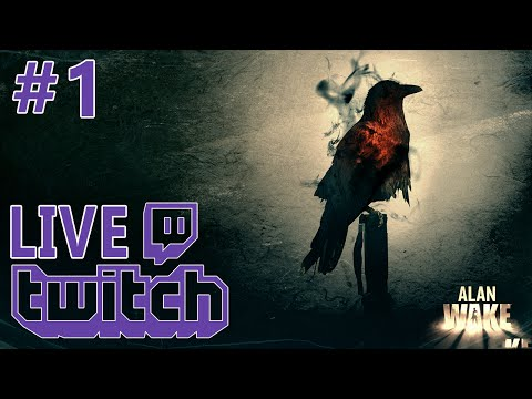LIVE Twitch: Alan Wake - Epidodul 1 - Campania Single Player [ro\en]