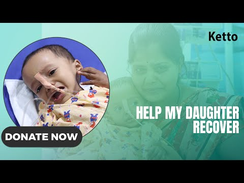 She is only one year old and suffering from a terrible disease. Help
