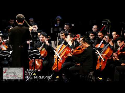 "Jakarta City Philharmonic ""Italy Abad XX: Daur Ulang dan Opera"""