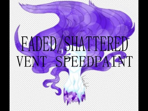 (Mild Crystal Gore?) Vent Speedpaint: Shattered/Fading