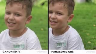 �������� ���� Panasonic GH5 vs Canon 5D Mark IV 4K!!!! ������