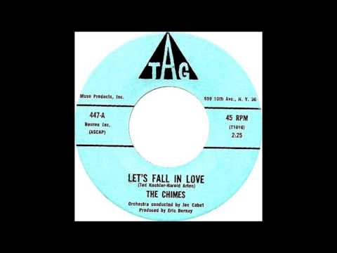 The Chimes [  Brooklyn,NYC ]   Let's Fall In Love' / Dream Girl-1961 Tag 447