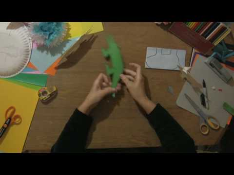 Paper Craft Projects How To Make Paper Animals Youtube