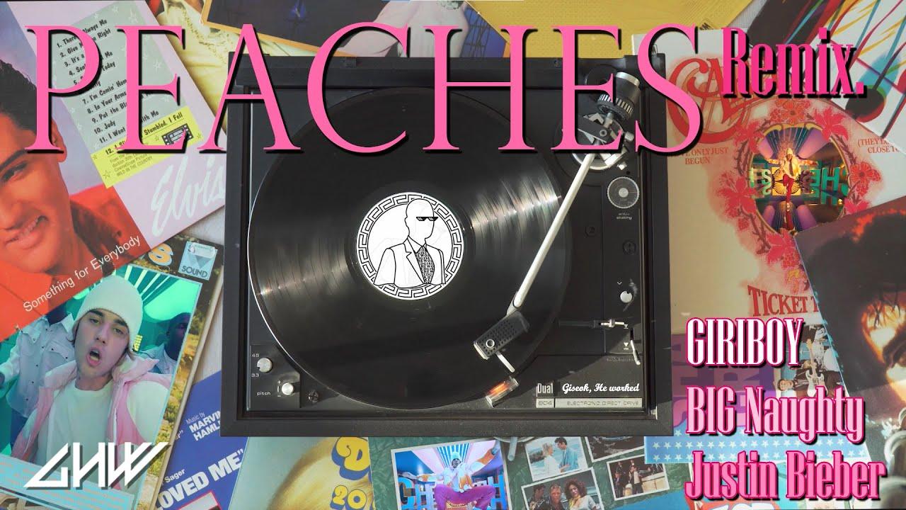 저스틴 비버, 빅 나티, 기리보이 - Peaches Remix