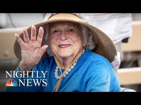 Barbara Bush, In Ailing Health, Focusing On 'Comfort Care' | NBC Nightly News