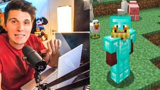 Paluten spielt zum ersten mal Minecraft 1.16 + Laptop