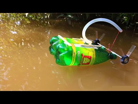 Simple idea How to Make a Toy Boat