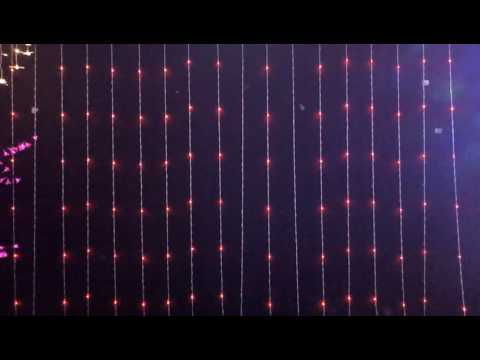 LED water curtain lighting