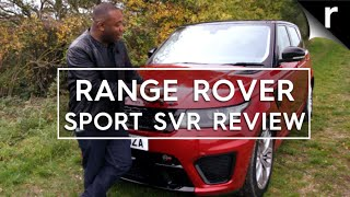 Range Rover Sport SVR review: Big, bad and brutally fast