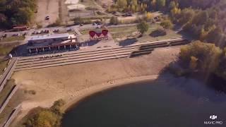 Dji Mavic Pro #3 - Luftaufnahmen - Offlumer See - Neuenkirchen - Herbst 2018 - Seecafe - Trichter