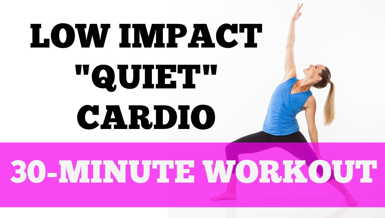 Fat Burning Cardio Low Impact Quiet Barefoot Full 30 Minute Workout Mat Fusion 2 You