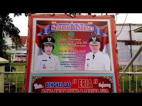 Walikota dan Wakil Walikota Singkawang Terpilih 2017 - 2022