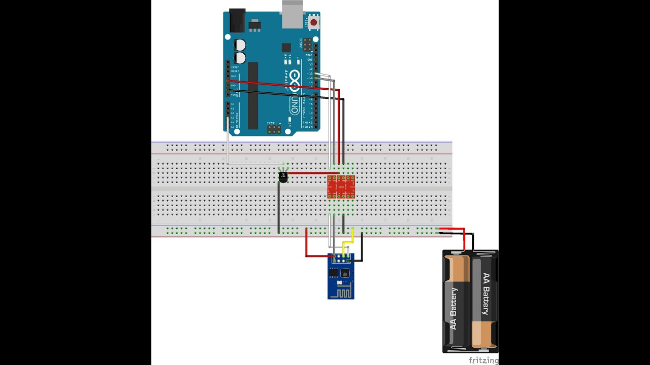 Arduino and esp part web thermometer youtube