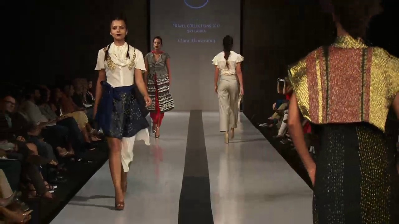 Mercedes Benz Fashion Runways - Sri Lanka Travel Fashion Collections 2017